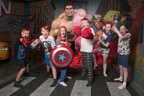 2 Day Blackpool Guide | Marvel Superheroes at Madame Tussauds