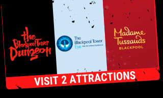 Visit 2 attractions - Blackpool Tower Dungeon Combi Ticket