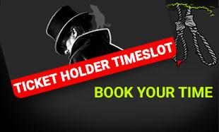 Ticket holder timeslot - book your time