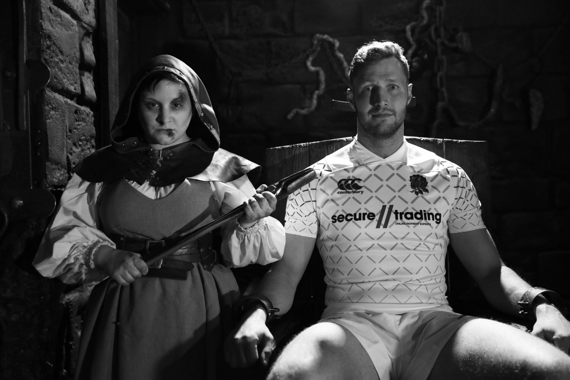 England Rugby X The London Dungeon