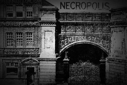 The Necropolis Railway Station In Westminster