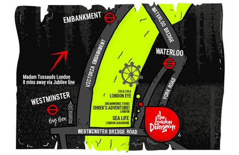 London Dungeon Map