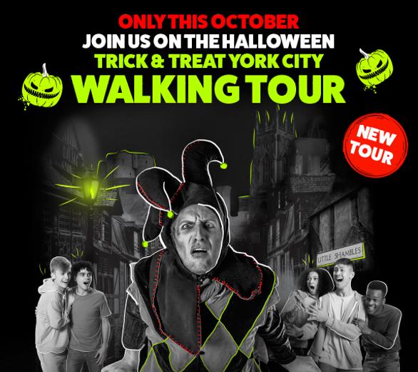Trick & Treat Walking Tour